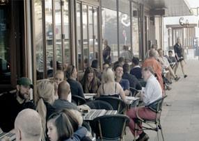 Den spansk inspireret café